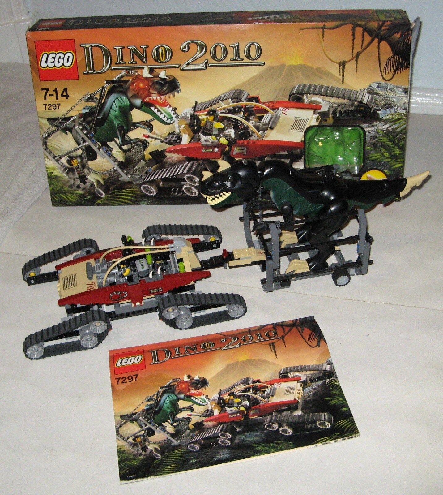 LEGO Dino 2010 Dinotransporter T-Rex Leuchtaugen Sammlungsauflösung