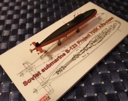 B-123 Projekt 705K Alfa-class U-Boot 1:1250 ARIA MASTER