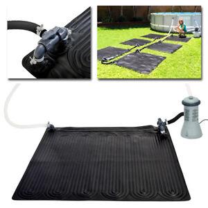 Intex chauffage de la piscine 120x120 cm mat solaire - Chauffage solaire pour piscine intex ...