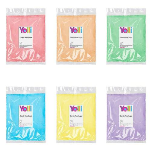 Flavours and Sticks For Machine Candy Floss Sugar 400g Multiple Choice Colours