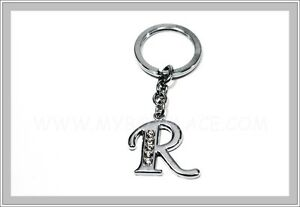 a2c620f01c Image is loading Letter-R-Name-Initial-Personalised-Shiny-Diamante-Nickel-
