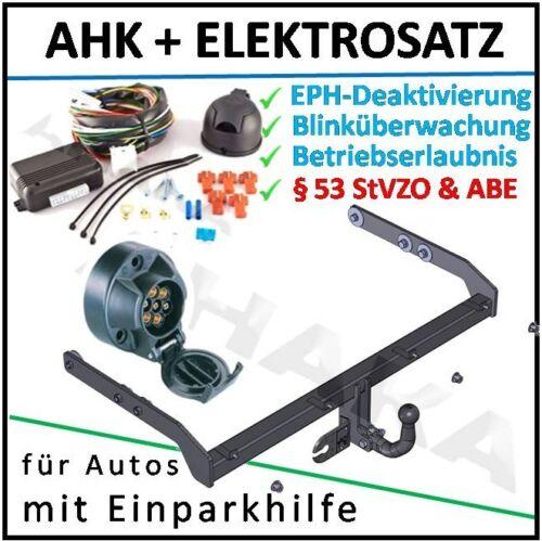 AHK ES7 VW Sharan 00-10 Anhängerkupplung EPH-Deaktivierung Einparkhilfe komplett