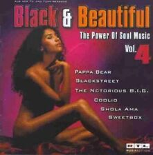 Black & Beautiful 4 (1998) Pappa Bear, Blackstreet, Notorious BIG, Cool.. [2 CD]