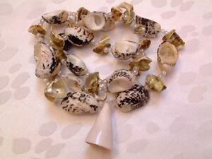 Seltene Riesige 14mm Echte Multicolor Runde Südsee Muschel Perlenkette 18 /'/'