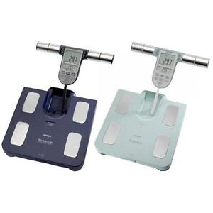 Omron-BF511-Body-Composition-Monitor-BMI-Fat-Muscle-Weighing-Scales-Dark-Blue