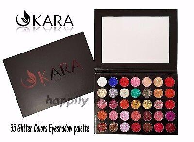 KARA 35 Color Galaxy Stardust Shimmer Glitter Powder Kit- Authentic & NEW - ES17