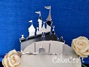 princess castle wedding cake toppers acrylic disney princess castle birthday wedding cake 18767