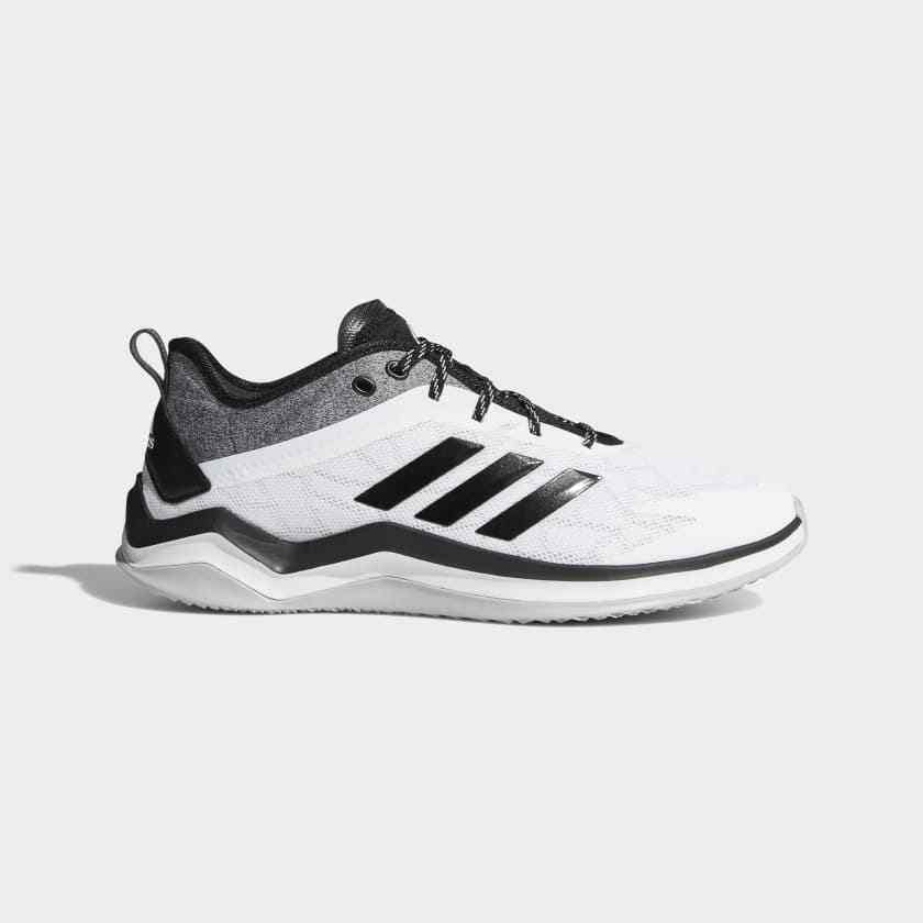 Adidas Speed Trainer 4 Men's Running Training Athletic shoes White Black