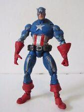 """Marvel legends Face off series Masked Captain America 6"""" figure Custom fodder"""