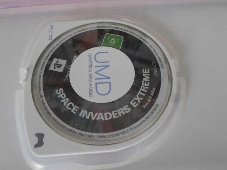 Space Invaders Extreme, PSP