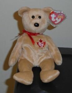 ffaf07cee0b Ty Beanie Baby - TRUE the Bear (Canada Exclusive)(8.5 Inch) MWMT ...