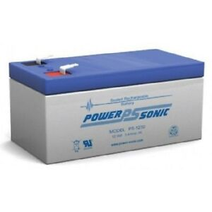 BATTERY-POWER-SONIC-PS-1230-12V-3-4-AH-SLA-VALVE-REGULATED-EACH