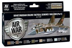 Actif Vallejo Model Air - Soviétique Tactique Schemes 1960-2000 (partie I) Peinture