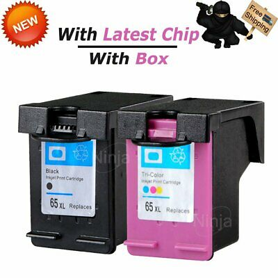 1PK Color 2PK Black Compatible with HP 65XL Ink N9K03AN N9K04AN for Deskjet 2655