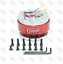 UNIVERSAL-QUICK-RELEASE-STEERING-WHEEL-HUB-ADAPTER-BOSS-KIT-FOR-MOMO-OMP-RED miniature 1