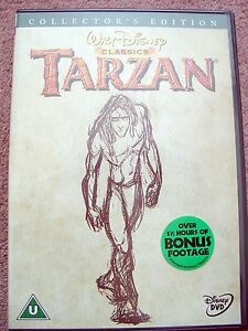 Walt Disney Classics  Tarzan  2 Disc Collector039s Edition  Genuine UK Region 2 - <span itemprop='availableAtOrFrom'>Lincolnshire, United Kingdom</span> - Walt Disney Classics  Tarzan  2 Disc Collector039s Edition  Genuine UK Region 2 - Lincolnshire, United Kingdom