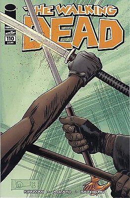 Adlard Beautiful The Walking Dead # 110 Nm Michonne Vs Amc Ezekiel Kirkman