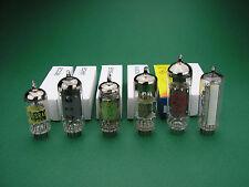 Röhren-Satz ECC85 ECH81 EF89 EABC80 EL84 EM84 Tube set NOS -> Röhrenradio