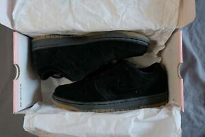 buy popular e80ed 020e8 Details about NEW DS NIKE SB DUNK LOW PRO Halloween Black Pack Suede Pink  Box Gum 2005 - 9.5