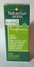 NatureSun Aroms - Huile essentielle Pamplemousse Bio - 30 ml