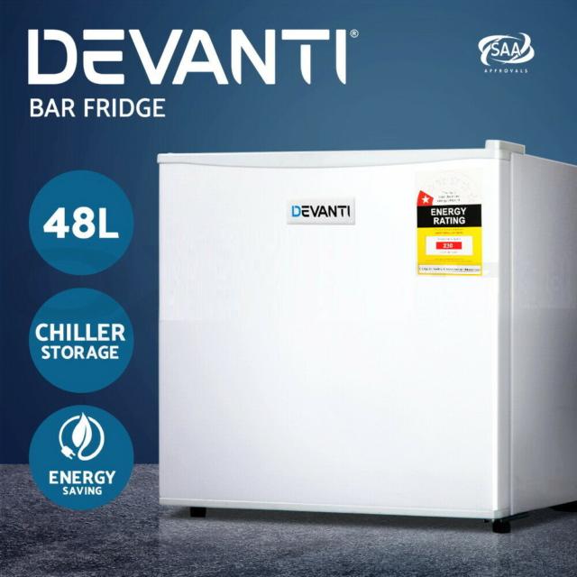 Portable Electric Mini Bar Fridge Freezer 48L Refrigerator Wine Camp Travel -NEW
