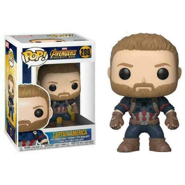 No 288 Avengers Infinity War Captain America Funko POP