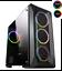 Game-Max-Kamikaze-PRO-RGB-MATX-Gaming-PC-Case-Tempered-Glass-4x-Ring-Fans thumbnail 1