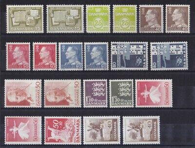 Dänemark Postfrisch Jahrgang 1965 Siehe Bild Entlastung Von Hitze Und Sonnenstich
