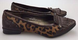 Born CALIGO Leopard Print Ballet Flats