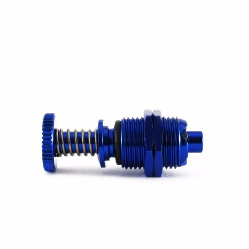 2PC Aluminum Hatch Clip// Cowl Lock Blue for Rc Boat L35mm x D12mm