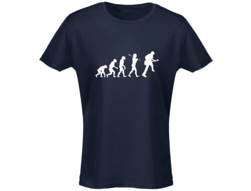 12 Colours Guitar Evo Evolution Funny Music Womens T-Shirt