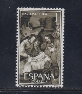 ESPANA-1964-MNH-NUEVO-SIN-FIJASELLOS-EDIFIL-1630-NAVIDAD