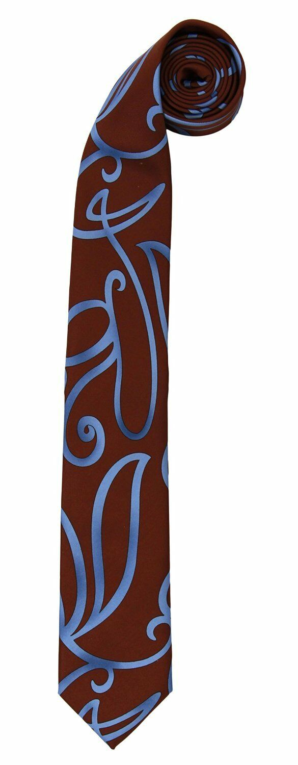 Doctor Dr. Who - DOCTOR WHO SWIRLY NECKTIE Neck Tie Accessory 10th Dr Blue Costume BBC
