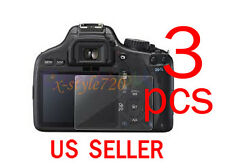 3pcs Clear LCD Screen Protector Cover Film For Canon EOS 550D REBEL T2i