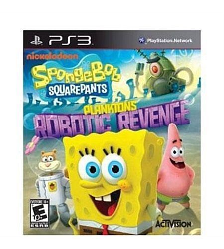 PlayStation 3 : SpongeBob SquarePants: Planktons Robotic VideoGames