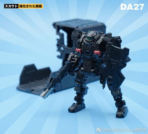 MFT DA27 Diaclone Special Force Robot Stealth Ver New