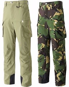 Wychwood-Cargo-Camo-amp-Green-Multi-Zipped-Pocket-Hardwearing-Fishing-Trousers
