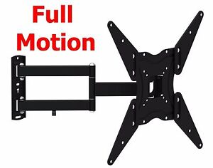 Full-Motion-TV-Wall-Mount-Swivel-Bracket-32-40-42-47-55-Inch-LED-LCD-Flat-Screen