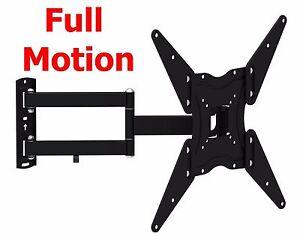 Full Motion Tv Wall Mount Swivel Bracket 32 40 42 47 55