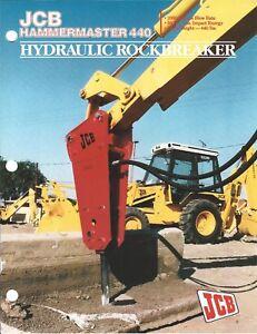 Equipment-Brochure-JCB-Hammermaster-440-Hydraulic-Rockbreaker-c1988-E4848