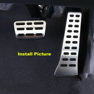 16-19 Pedal Pads For Hyundai Sonata Tucson IX35 Santa Fe /Sport Gas Brake Pedals
