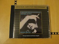 Marianne Faithfull - Broken Englsih / Strange Weather - MFSL Gold Audiophile CD