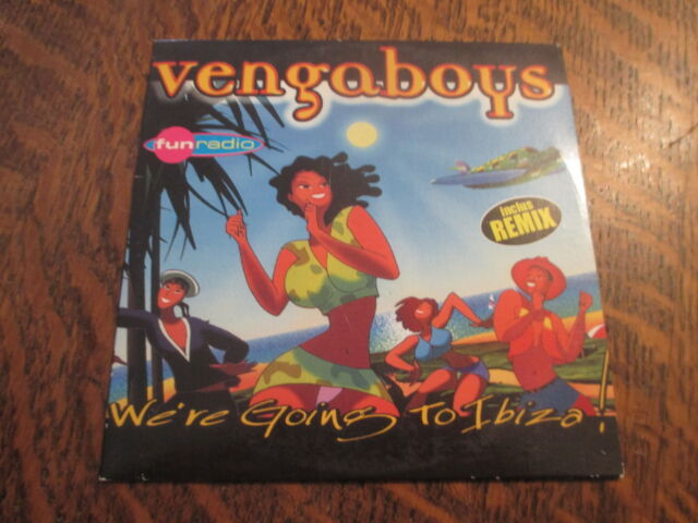 cd VENGABOYS we're going to ibiza!
