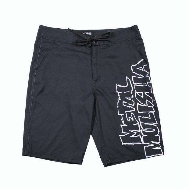 Metal Mulisha Men's Squad Boardshorts OG Motocross Logo Swim Trunks