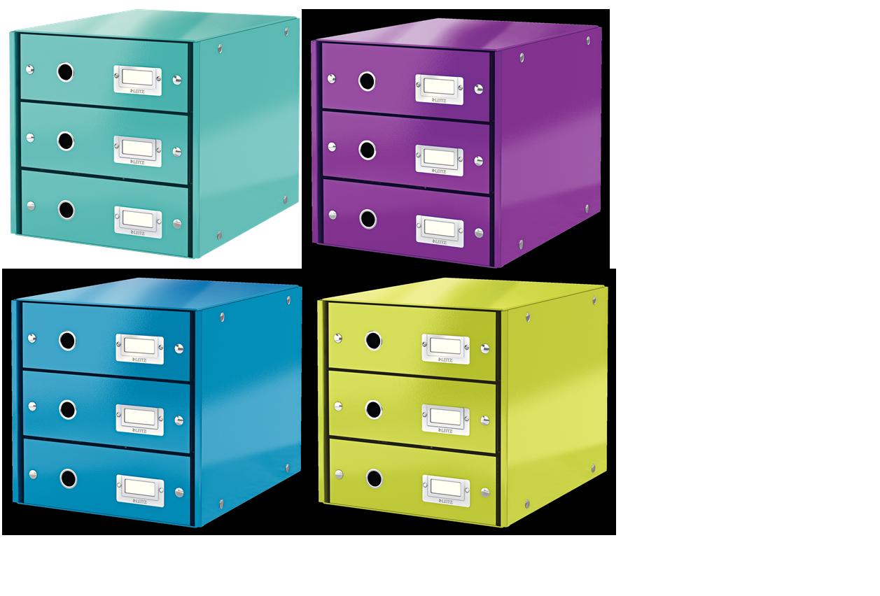 Schubladenbox schubladen ordnung leitz click store for Schubladen ordnung