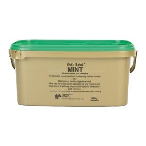 Gold-Label-Mint-Condiment-for-Horses-600g