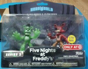Five Nights at Freddy/'s HeroWorld Target Exclusive Mini Figure Collection 5 Pack