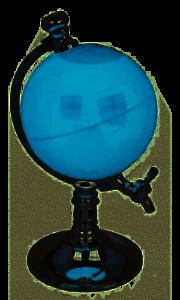 Weltkugel// Globe Getränkespender