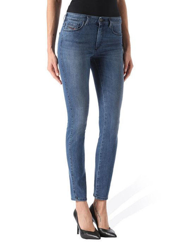 Diesel Doris 28437.6oz Women's Jeans Trousers Slim Skinny