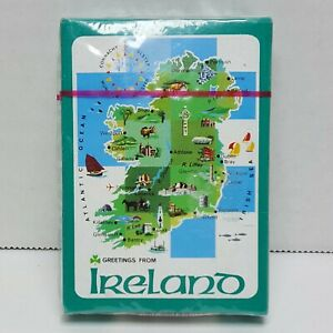 Ireland-Souvenir-Playing-Cards-NOS-Sealed-Package